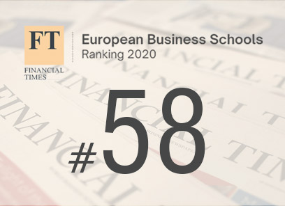 IBS RANEPA is #58 in the Financial Times European Business Schools 2020 ranking