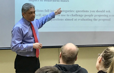 Dr. Patel's Interview as part of the master class for bachelor and master students of IBS-Moscow RANEPA